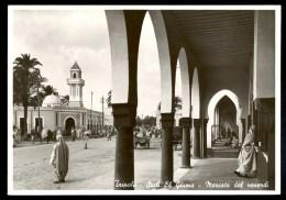Tripoli Such El Giuma- Mercato Del Venerdi - Vera Fotografia ------- Postcard Not Traveled - Libye