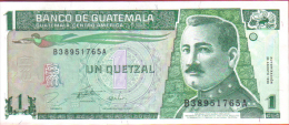 GUATEMALA. Nuevo  1 Quetzal .2006. S/C. - Guatemala