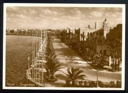 Tripoli Lungomare Conte Volpi - Vera Fotografia ------- Postcard Not Traveled - Libye