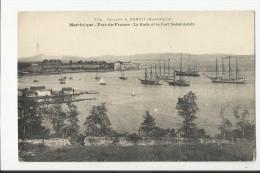 FORT DE FRANCE , LA RADE ET LE FORT SAINT LOUIS - Fort De France