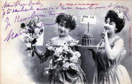FETES ET PORTE-BONBEUR, 1907 - Frauen