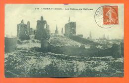 """Dpt  03  Murat  """"  Les Ruines Du Chateau  """" - France"""