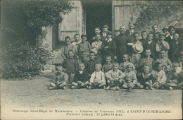 41 SAINT DYE SUR LOIRE / Patronage Saint Régis De Montmartre, Colonie De Vacances / - France