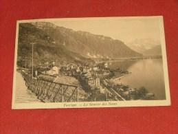 TERRITET  -  Le Sentier Des Roses   -  1909    - (2 Scans) - VD Vaud