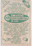 KESSEL-LO-GOUDSMID-JUWELIER-J.MERTENS-LEUVENSESTRAAT-ZELDZAAM PAPIEREN RECLAMEZAKJE-(+-11-16CM)- JAREN 50-ZIE 2 SCANS ! - Leuven