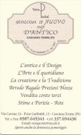 CAL104 - CALENDARIETTO 2005 - VERA PERINI - CASCIANA TERME (PI)