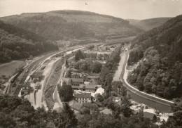LUTZELBOURG  Cpsm  1959  La Gare - Andere Gemeenten