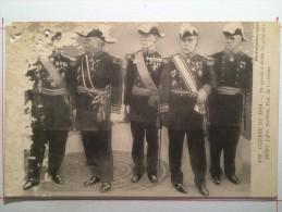 Guerre 14-18, Les Généraux Michel, Joffre, Galliéni, Pau, De Castelnau - Guerre 1914-18