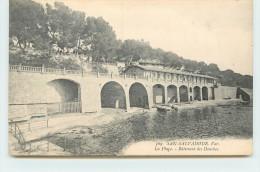Hyères - San Salvadour, La Plage Bâtiment Des Douches. - Hyeres