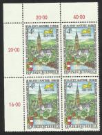 """Österreich 1988  """"Salzburger Landesausstellung Im Stift Mattsee""""  4er-Block  ÖS 4,-  ANK Nr. 1954 ** / Feinst Postfrisch - 1945-.... 2nd Republic"""