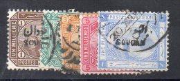 N° 1 à 5 - Oblitéré - Soudan (1954-...)