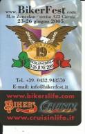 CAL122 - CALENDARIETTO 2005 - BIKERFEST - MONTE ZONCOLAN