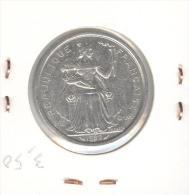 2 Francs Nouvelle Calédonie / New Caledonia 1982 TTB - Nouvelle-Calédonie