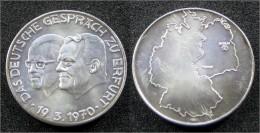"""1970 Medaille """"Das Deutsche Gespräch Zu Erfurt"""" - Allemagne"""