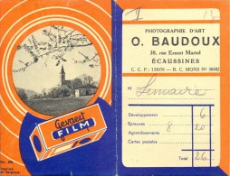 Carnet Photo - Etui Foto - Photographie  Baudoux Ecaussines - Ohne Zuordnung