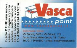 CAL131 - CALENDARIETTO 2005 - VASCA POINT - TORINO