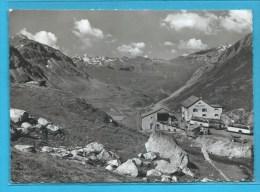 C.P.M. Julier Pass Mit Hospiz - Roccabella Und Stallerberge - Voir Autocar Ancien - GR Grisons