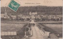 Eure :  SERQUIGNY  : Vue - Serquigny