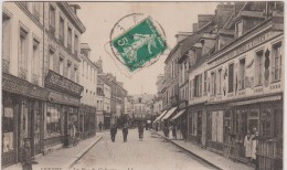 Seine  Maritime :  YVETOT : La  Rue   Du  Calvaire - Yvetot