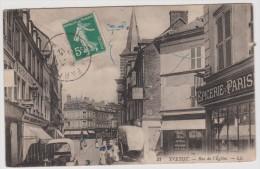 Seine  Maritime :  YVETOT :  Rue De   L  église - Yvetot