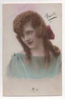 CPA Fantaisie - Femme - Lady - Frau - Portrait - Bonne Fête - Mujeres