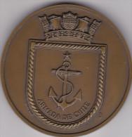 Armada de Chile - Commandante en Jefe - m�daille dans �crin - Chili - Navy Marine - diam�tre 6 cm - 2 scans