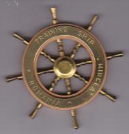 Bricul Mircea - Training ship Romania - Navy Marine - petite barre - gouvernail - voilier - 10 cm - Roumanie