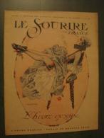 LE SOURIRE DE FRANCE n�45 (20�me ann�e) - f�vrier 1918 - revue de charme - Curiosa