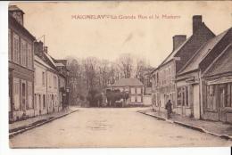 60- Maignelay  La Grande Rue Et La Madone - Maignelay Montigny