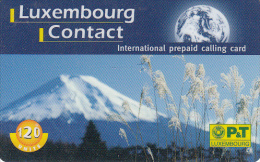 LUXEMBOURG - Mountain, P & T Prepaid Card 120 Units, Exp.date 01/04/00, Used - Luxemburg