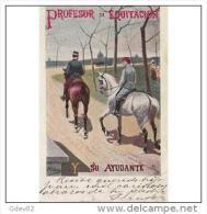 MLTTP0500CPA-LFTP1853TANC.T Arjeta Postal De España.Caballos,Equitacio N,circulada - Caballos
