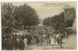 St HILAIRE DES LOGES. - Le Champ De Foire Un Jour De Foire - Saint Hilaire Des Loges