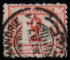 ~~~ Egypte 1884 - Postage Due  - Mi. 4 (o) - Cat. 18.00 Euro ~~~ - Egypte