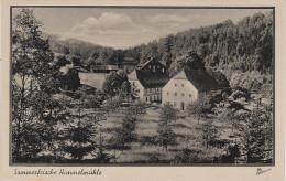AK Himmelm�hle Gasthof M�hle bei Wiesenbad Wolkenstein Streckewalde Mildenau Annaberg Feldpost Stempel Grossr�ckerswalde