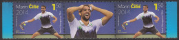 Bosnia Croatia 2014 Marin Cilic, Tennis, US Open Winner, Sport, Middle Row MNH - Bosnia And Herzegovina