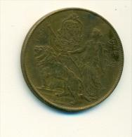 Exposition Universelle Liège 1905 - 1830-1905 - Elongated Coins
