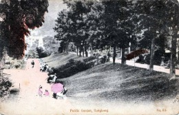 HONGKONG Public Garden Colorierte Karte Um 1900 - China (Hongkong)