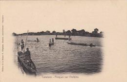 TAMATAVE (Madagaskar) - Piroques Sur L'Ivoloina, Karte Um 1900 - Madagaskar