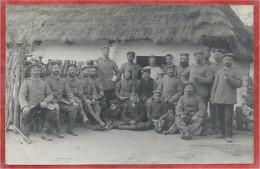 """Polska ? - Polen - Poland - KUSIENTA - Carte Photo - Foto - Deutsche Soldaten - Stempel """" Landst. Bt. SCHLETTSTADT """" - Polen"""