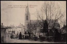 Gheel - Geel - De Groote Markt En St.Amanduskerk 1910 (mooi Geanimeerd) - édit. Lahong - Geel
