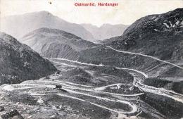 OSMANLID HARDANGER (Norwegen) - Karte Gel.1910 - Norwegen