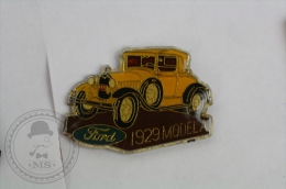 1929 Ford Model A - Pin Badge #PLS - Ford