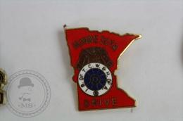 Minnesota Drive - Horse - Pin Badge #PLS - Animales