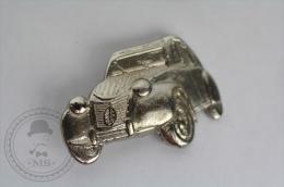Citroen 2CV, Silver Colour - Pin Badge #PLS - Citroën