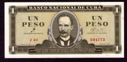 Cuba  1 peso 1961 UNC CHE GUEVARA signature