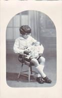 23998 Carte Photo Fillette Fille Girl Bebe - - Portraits