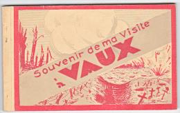 24000 Carnet De 15 Cpa, Souvenir De Ma Visite à Vaux -- Verdun Tourisme, Complet - Guerre 1914-18