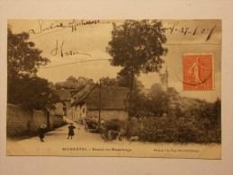 Carte Postale - MORESTEL (38) - Route Du Bouchage (1383) - Morestel