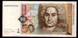 Germany 50 DEM 1989 - [ 7] 1949-… : RFA - Rep. Fed. Tedesca