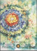 Blok152  Gentse Floralien 1808 -2008. Ongetand Met Nummer Op Achterzijde.Cote 40 € - Imperforates